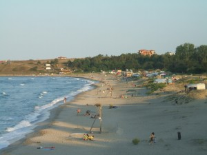 Overview of Coral Beach